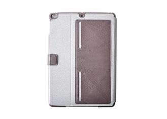 Causal Style Hybrid Universal Tablet Case Multiple Viewing Angles With Magnetic Closure