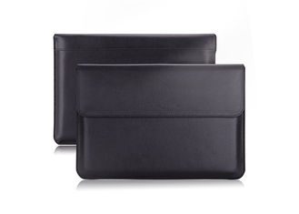 Genuine Leather Universal Laptop Sleeve Magnet Closure For iPad Pro 9.7 Inch