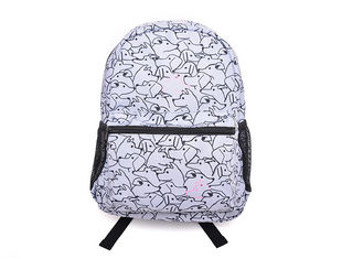 Colorful Waterproof Primary School Bag 600D Poly Material Decent Capacity