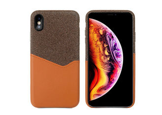 Fashionable Leather Phone Cases With Card Slot Function For iPhone X XR